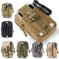 Tactical Molle Backpacks Pouch Belt Bag Military Waist Backpack