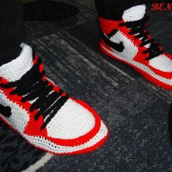 nike air jordan shoes crochet converse slippers adult shoes house slippers men s c  number 3