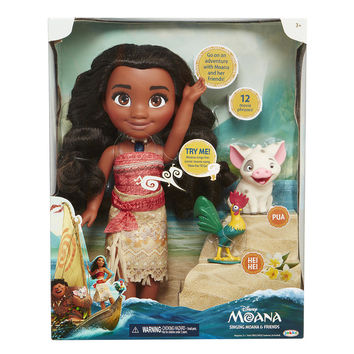 Disney Singing Moana and Friend Doll Set