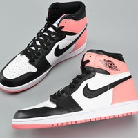 "Best Deal Online Nike Air Jordan Retro 1 NRG ""RUST PIINK"" 861428-101 Men Sneakers"