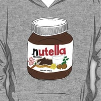 Chocolatey Nutella Design! Yum Hoodie (Pullover)