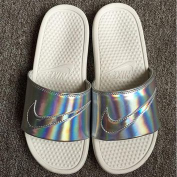 simpleclothesv  :Nike: Simple the Bright Slide Sandals