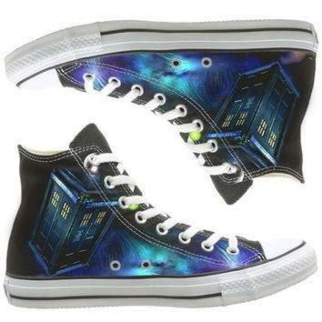 ICIKGQ8 galaxy converse dr who painted shoes custom shoes by natalshoes