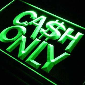 Cash Only Neon Sign (LED)
