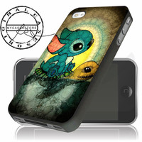 Stitch and Turtle for iPhone 4/5/5c/6 Plus Case, Samsung Galaxy S3 S4 S5 Note 3 4 Case, iPod 4 5 Case, HtC One M7 M8 and Nexus Case