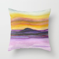 Abstract nature 06 Throw Pillow by marcogonzalez
