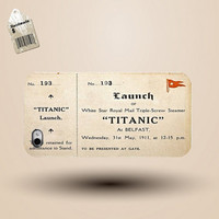 iphone case, i phone 4 4s 5 case,cool cute iphone4 iphone4s 5 case,stylish plastic rubber cases cover, titanic  maiden voyage  ticket p1044