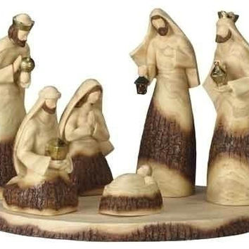 "Christmas Nativity Scene - 2-8 "" H"