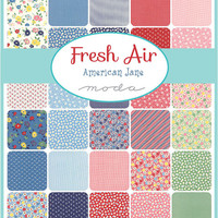 Fresh Air Fat Eighth bundle by American Jane for Moda Fabrics