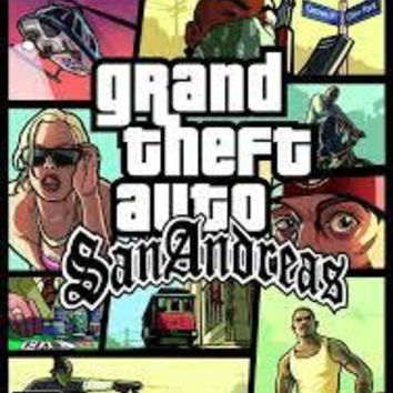 Grand Theft Auto San Andreas for the Playstation 2