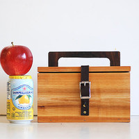 Classic Wooden Lunch Box