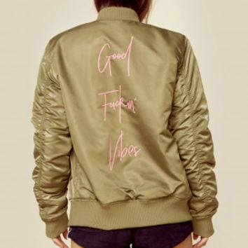 PB Exclusive GOOD VIBES BOMBER