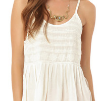 O'Neill Victoria Woven Tank Top at PacSun.com