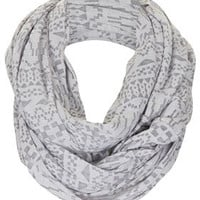 Geo Burnout Snood - Scarves  - Bags & Accessories