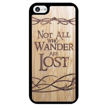 Not All Who Wander Are Lost iPhone 5/5S/SE Case
