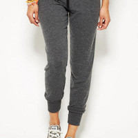 Delia's Yummy Lounge Pant in Charcoal