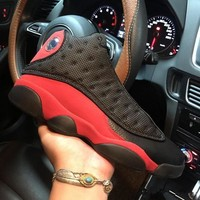 Air Jordan 13 Retro Bred Playoffs 414571-004 XIII Black Red Men's Height Increasing Shoes Fashion Shoes Top Quality With Original Box US7-13
