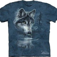 Wolf Reflection Kids T-Shirt