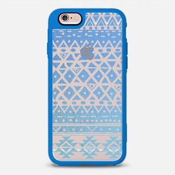 BLUE ACQUA - CRYSTAL CLEAR PHONE CASE  iPhone 6s case by Nika Martinez | Casetify
