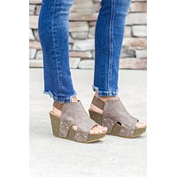 City Of Dreams Wedge - Mocha