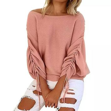 Connie Scrunch Sleeve Top