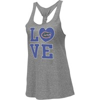 Florida Gators Heather Gray Women's Vintage Forget Me Knot Tri-Blend Tank Top