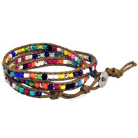 Multi Wrap Bead Bracelet on Sale for $9.99 at HippieShop.com