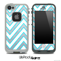 chevron lifeproof skin iphone 4s
