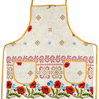 "Kitchen apron ""Sviato"""