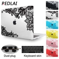 Redlai 3D Crystal Transparent Case For 2016 New Macbook Pro 13 15 inch with Touch bar A1706 A1707 & A1708 without Touch bar
