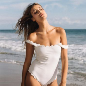 Classic Scalloped One-Piece