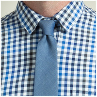 Blue Chambray Tie - Michael