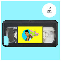 Fresh Prince of Bel Air,vhs,cassette,tape,case for man,hip hop,funny,s5,hipster iphone case,hipster samsung,90's,unisex,case,iphone 6,tv,90s