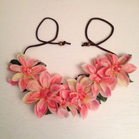 Flower Headband, Flower Crown, Concert Wear, EDM, Ultra, Ezoo, Coachella, Hippie Headband, Floral Headwear