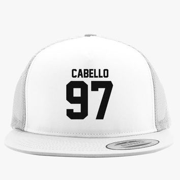 CABELLO Embroidered Trucker Hat