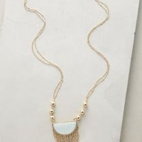 Moondance Fringe Necklace by Anthropologie in Mint Size: One Size Necklaces