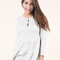 Altar'd State Easy Street Tiered Tunic