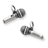 Microphone Charm | James Avery