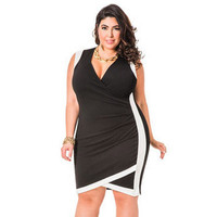 Dress Female Plus Size One Piece Dress = 4804249284
