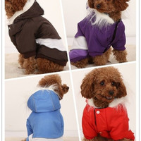 Pet Dog Clothes Pet Apparel Snowsuit Large Dog Clothing Winter Warm Coat = 1931985028