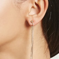 Wraparound Chain Earrings