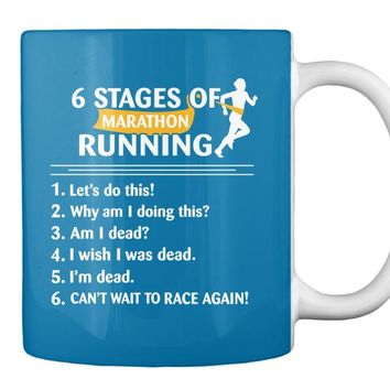 6 Stages of Marathon Running