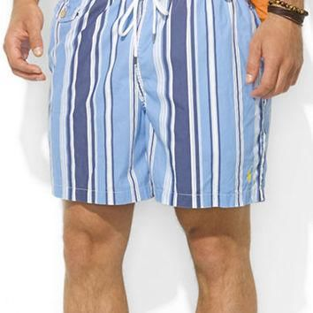 Polo Ralph Lauren Traveler Striped Nylon Swim Shorts