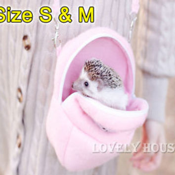 Rat Hamster Chinchilla Rabbit Ferret Hedgehog Outgoing Packet Bag Hanging Bed