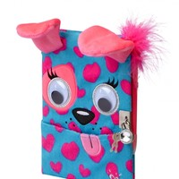 Plush Dog Pocket Diary