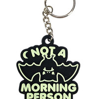 Glow In The Dark Grumpy Bat Keychain
