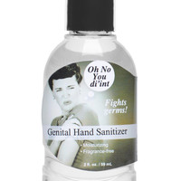 Oh No You Di-int Genital Hand Sanitizer- 2 oz