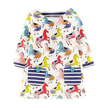 Baby Girl Unicorn Multi Dress