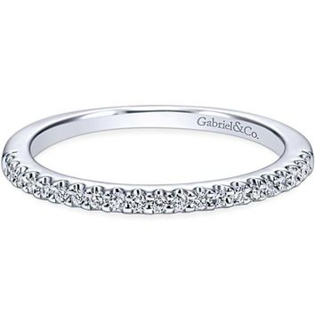 "Gabriel ""Kelsey"" Diamond Wedding Band"