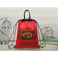 GUCCI Women Fashion Leather Handbag Tote Shoulder Bag Satchel Daypack Backpack